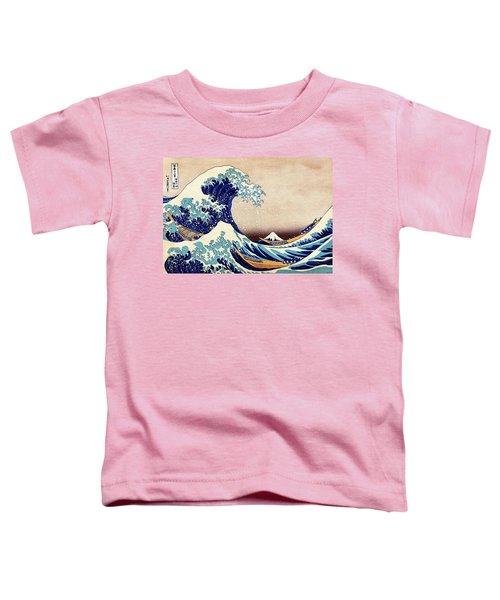 Great Wave Off Kanagawa Toddler T-Shirt