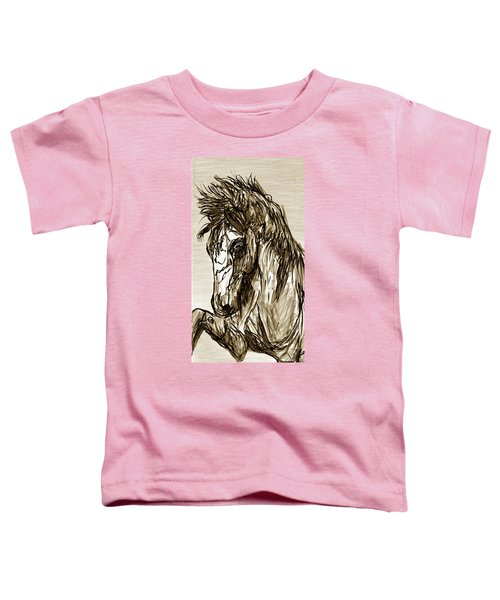 Horse Twins II Toddler T-Shirt
