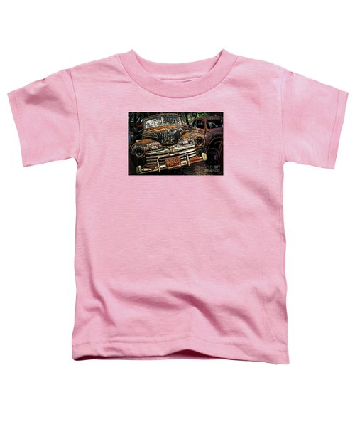 Old Rusty Ford Toddler T-Shirt