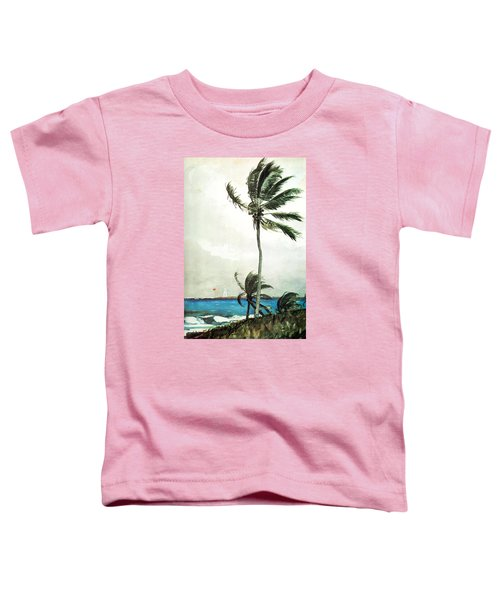 Palm Tree Nassau Toddler T-Shirt