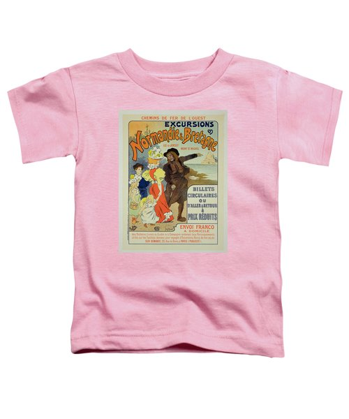 Reproduction Of A Poster Advertising Toddler T-Shirt