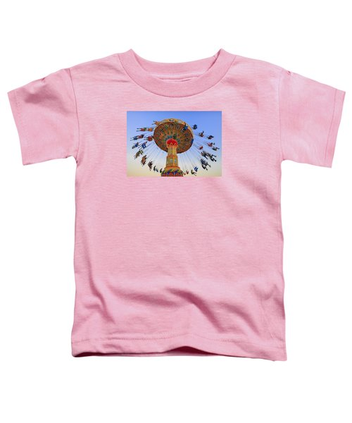 Santa Cruz Seaswing At Sunset 7 Toddler T-Shirt