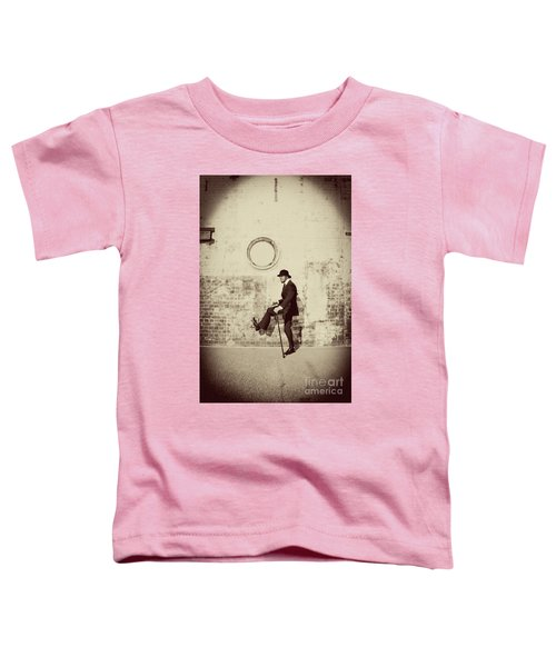Stepping Into The Past Toddler T-Shirt