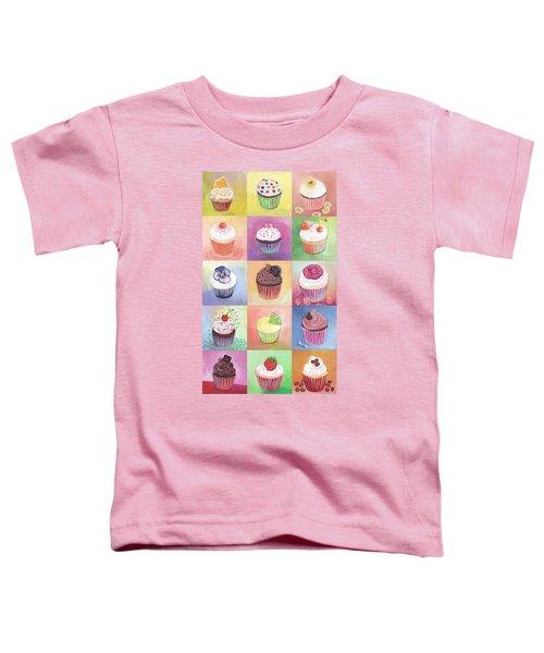 15 Cupcakes Toddler T-Shirt