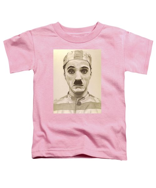 Vintage Charlie Chaplin Toddler T-Shirt