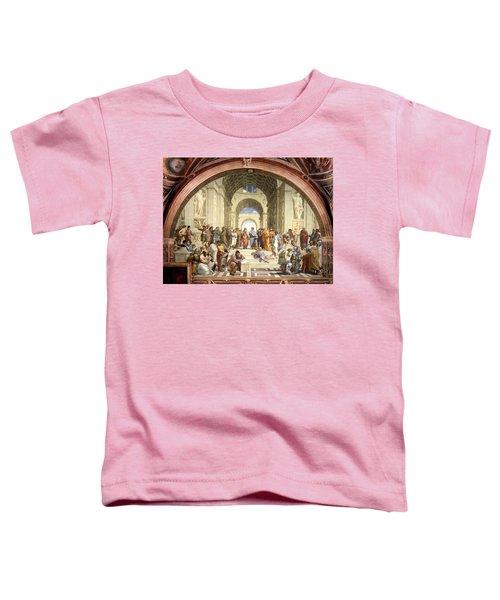 School Of Athens Toddler T-Shirt