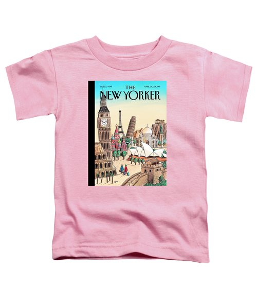 New Yorker April 20th, 2009 Toddler T-Shirt