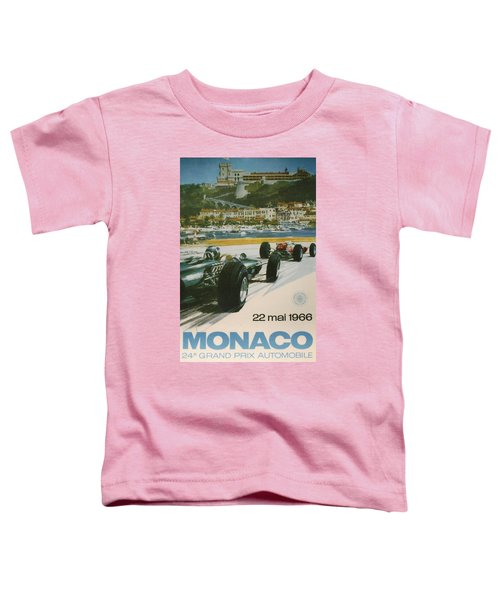 24th Monaco Grand Prix 1966 Toddler T-Shirt
