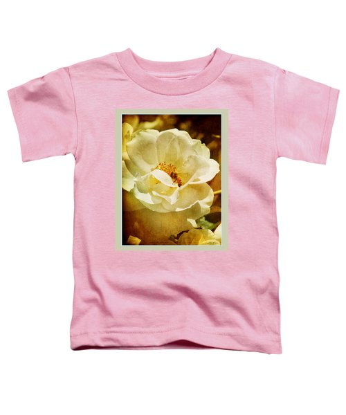 A Bee And Rose Toddler T-Shirt