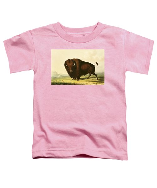 A Bison Toddler T-Shirt