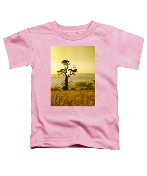 A Boab Sunrise Toddler T-Shirt