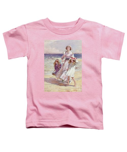 A Breezy Day At The Seaside Toddler T-Shirt