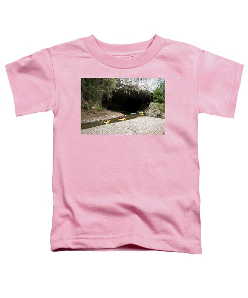 A Group Of Adventure Tourists Toddler T-Shirt