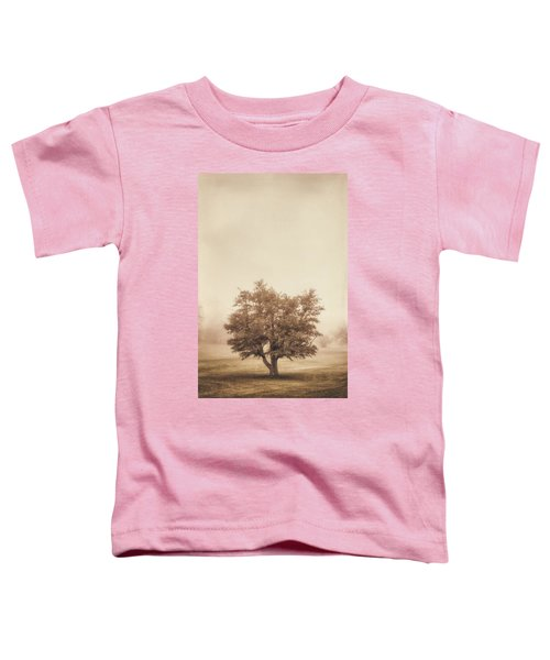 A Tree In The Fog Toddler T-Shirt
