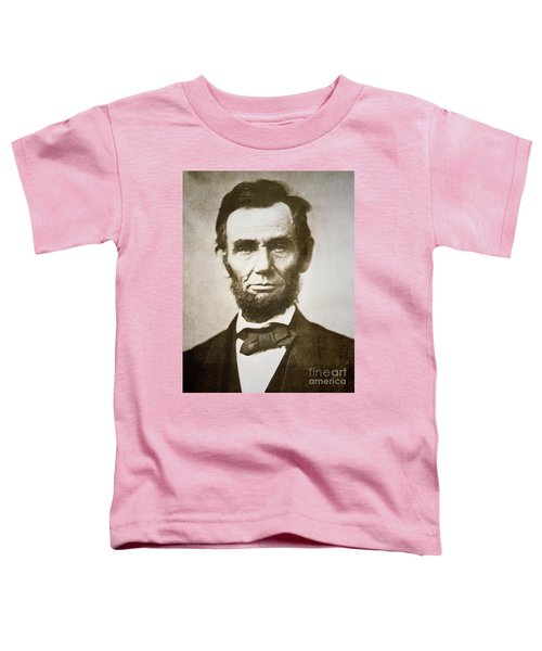 Abraham Lincoln Toddler T-Shirt