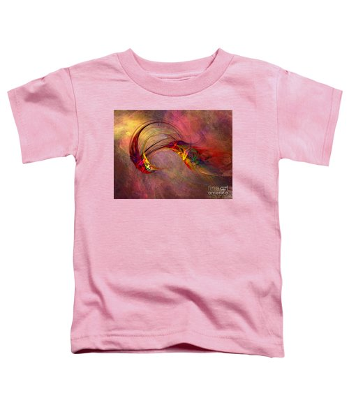 Abstract Art Print Hummingbird Toddler T-Shirt