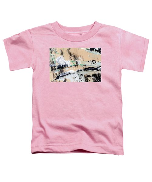 Abstract Original Painting Number Seven  Toddler T-Shirt