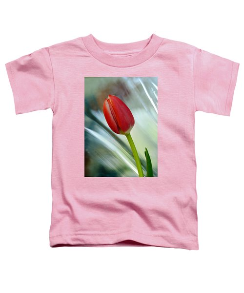 Abstract Tulip Under Glass Toddler T-Shirt