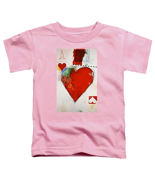 Ace Of Hearts 8-52 Toddler T-Shirt