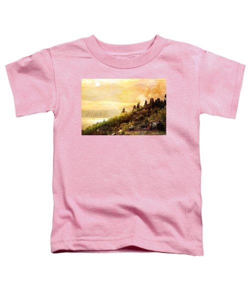 Alaska Montage Toddler T-Shirt
