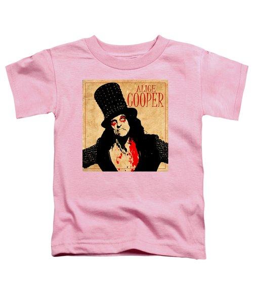 Alice Cooper 1 Toddler T-Shirt