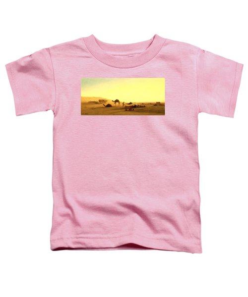 An Arab Encampment  Toddler T-Shirt