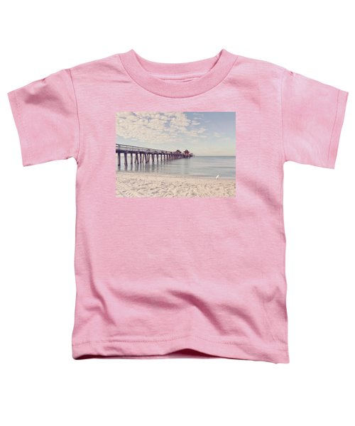 An Early Morning - Naples Pier Toddler T-Shirt