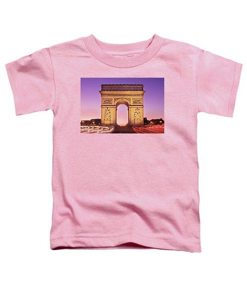 Arc De Triomphe Facade / Paris Toddler T-Shirt