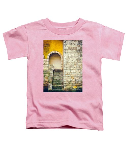 Toddler T-Shirt featuring the photograph Arched Entrance by Silvia Ganora
