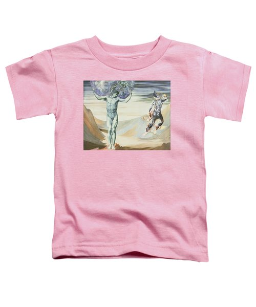 Atlas Turned To Stone, C.1876 Toddler T-Shirt by Sir Edward Coley Burne-Jones