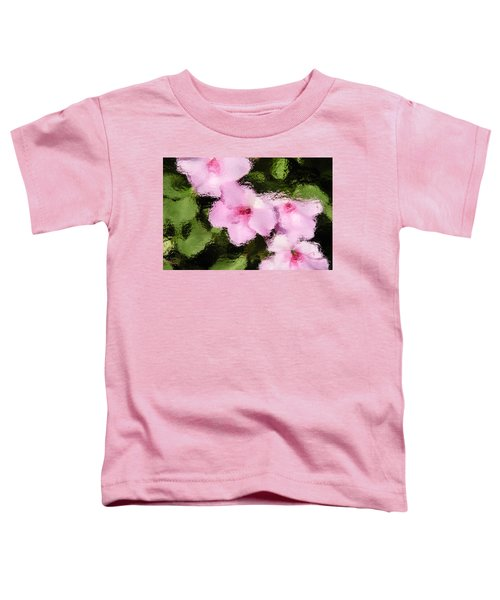Azaelas Under Glass Toddler T-Shirt