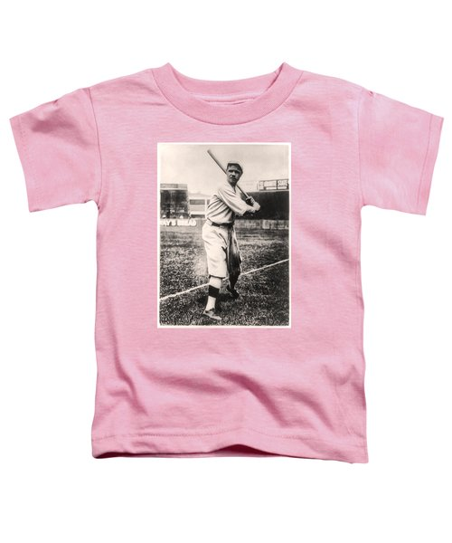 Babe Ruth Toddler T-Shirt by Bill Cannon