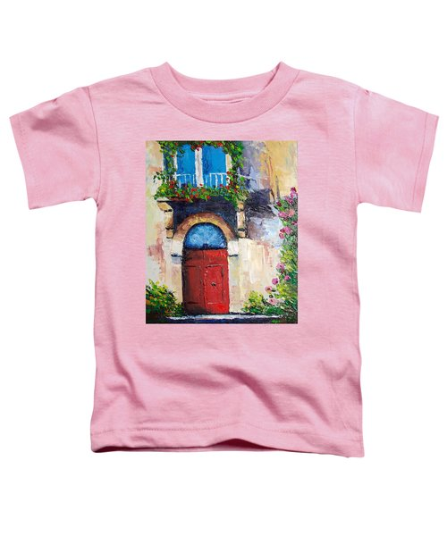 Balcony Toddler T-Shirt
