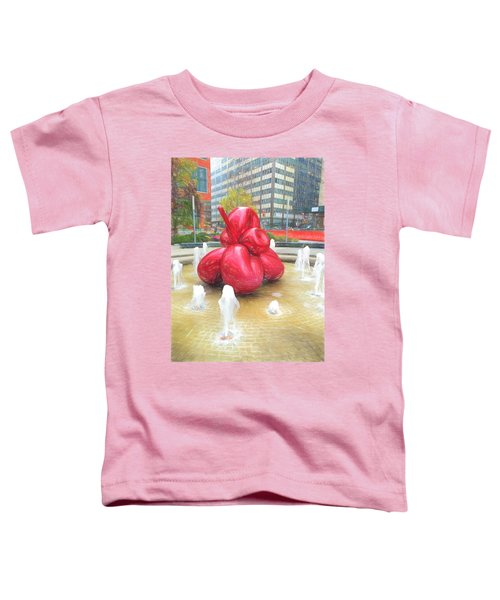 Balloon Flower In The Water Toddler T-Shirt