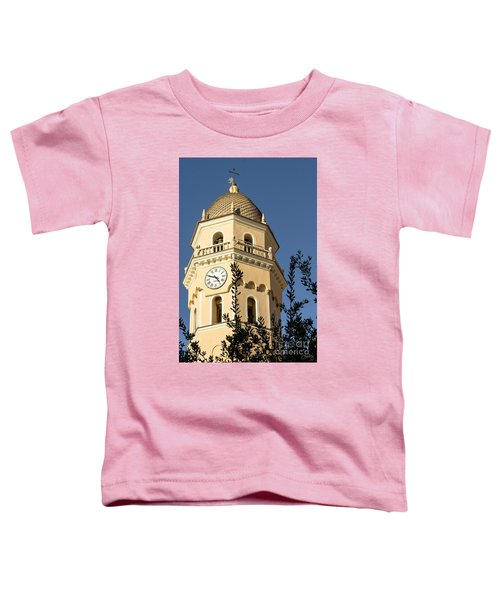 Bell Tower Of Vernazza Toddler T-Shirt