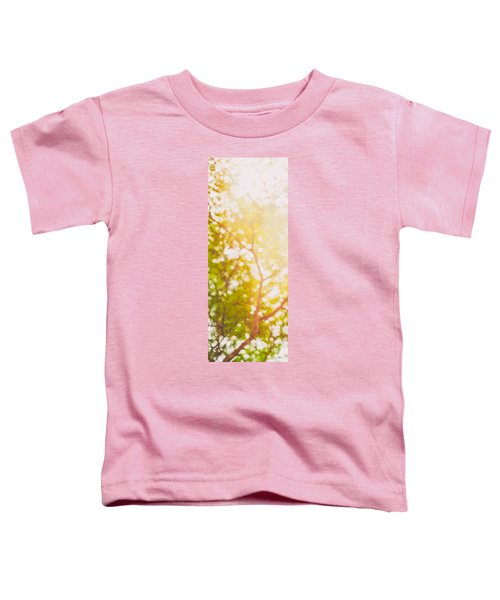 Beneath A Tree  14 5199   Diptych  Set 1 Of 2 Toddler T-Shirt