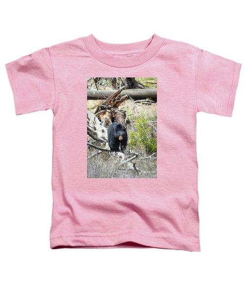 Black Bear Toddler T-Shirt