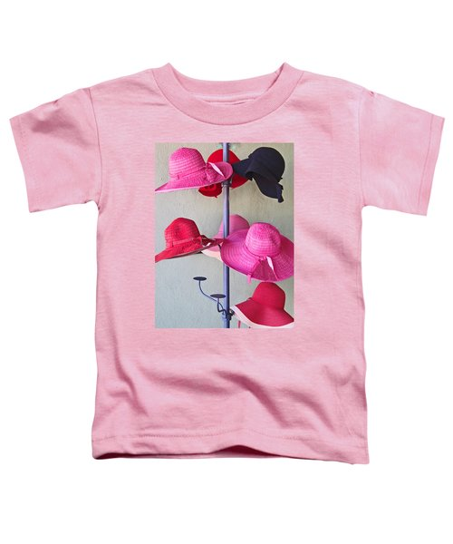 Black Chapeau Of The Family Toddler T-Shirt