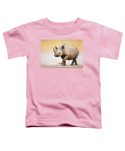 Black Rhinoceros Toddler T-Shirt