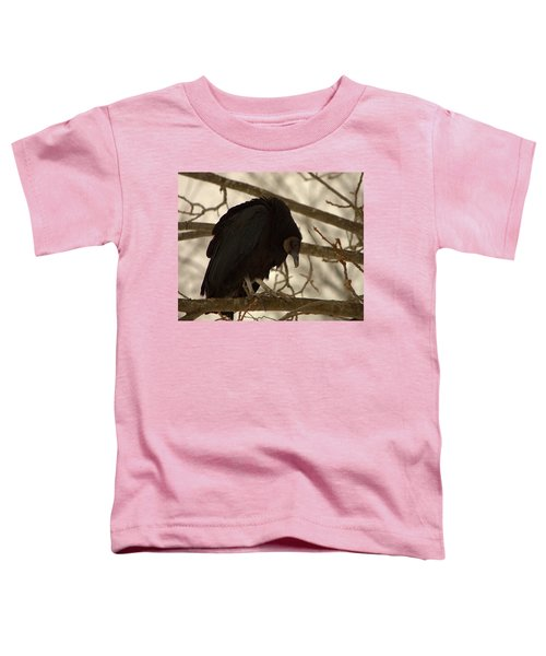 Black Vulture 4 Toddler T-Shirt