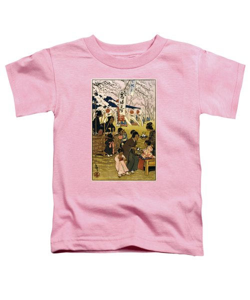 Blossom Time In Tokyo Toddler T-Shirt