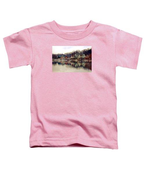 Boathouse Row Philadelphia Toddler T-Shirt