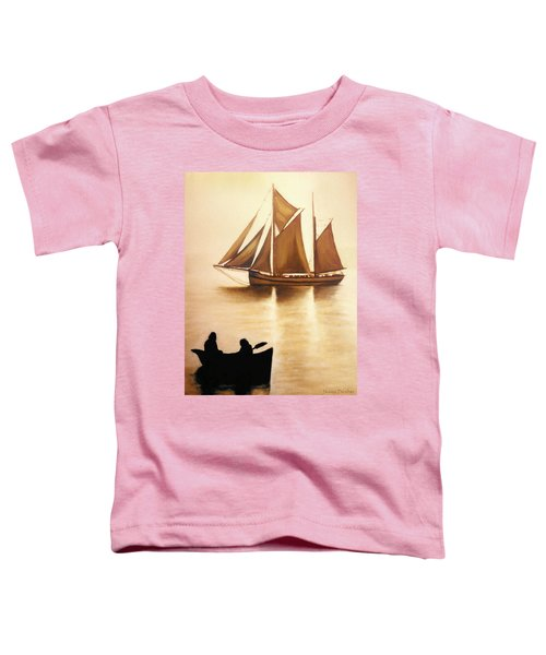 Boats In Sun Light Toddler T-Shirt