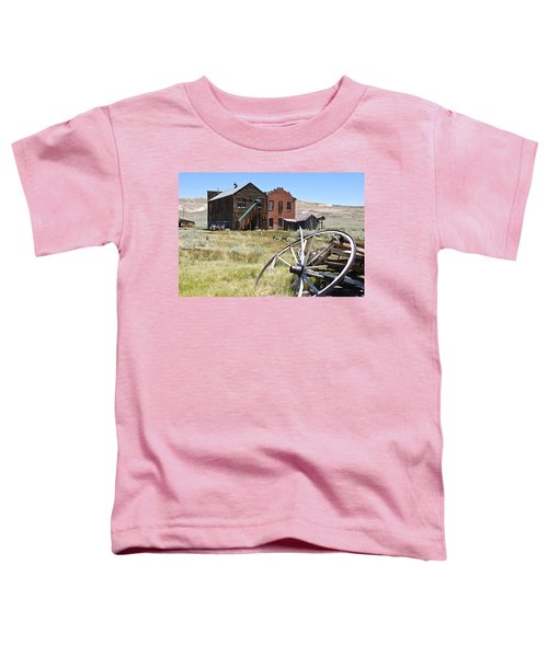 Bodie Ghost Town 3 - Old West Toddler T-Shirt