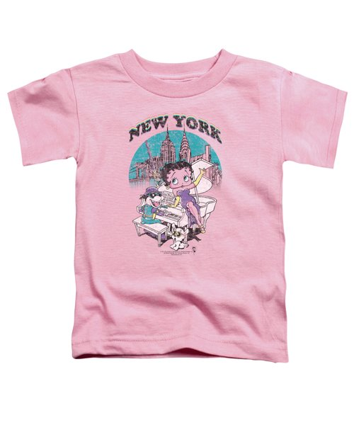Boop - Singing In Ny Toddler T-Shirt