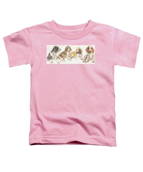 Bracco Italiano Puppies Toddler T-Shirt