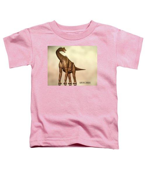 Brachiosaurus Dinosaur Toddler T-Shirt