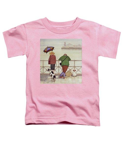 Brighton Pier, 1986 Watercolour On Paper Toddler T-Shirt