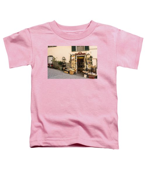 Burasca Shop Of Manarola Toddler T-Shirt