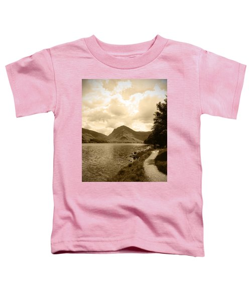 Buttermere Bright Sky Toddler T-Shirt by Kathy Spall